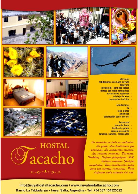 Afiche de Hostal Tacacho