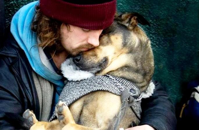 Amor verdadero; el animal y su amo