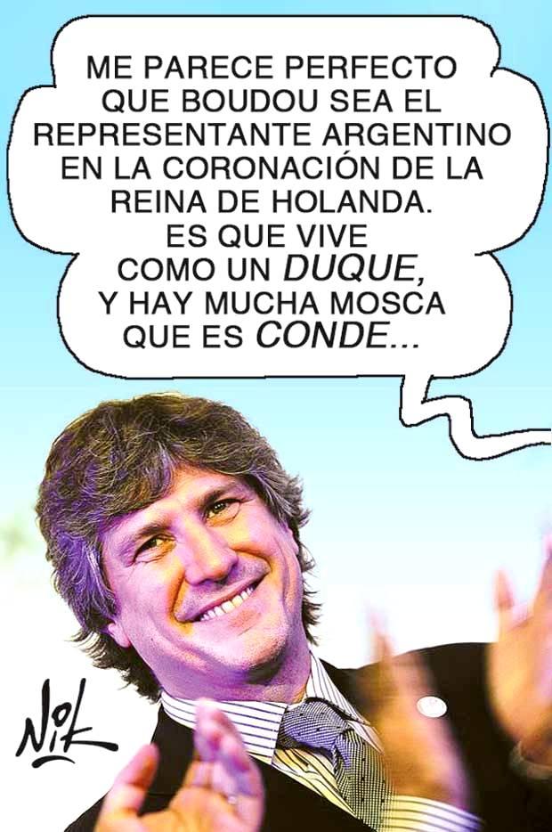 Representación argentina, por Nik