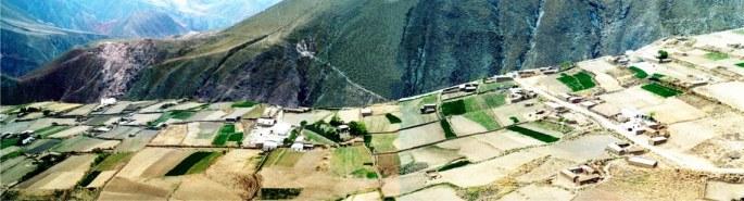 Vista panorámica de Pueblo Viejo, Iruya
