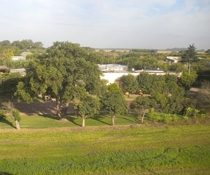Vista panorámica de parte de San Eduardo