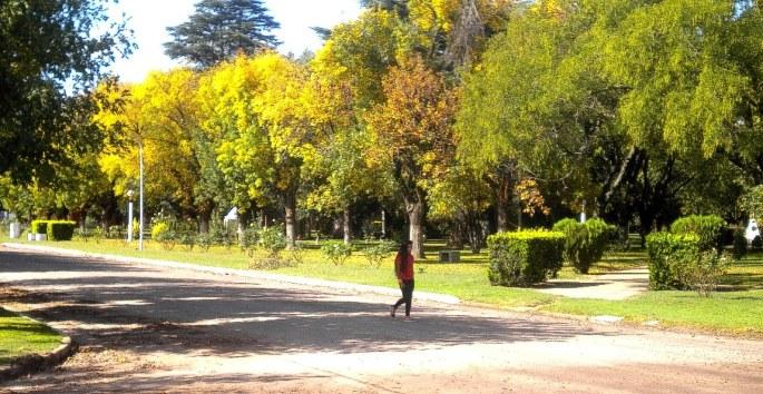 Postal otoñal de San Eduardo, escena 2. (Foto: Pablo Harvey)