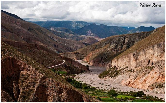 Camino a Iruya. (Foto: Néstor Riera)