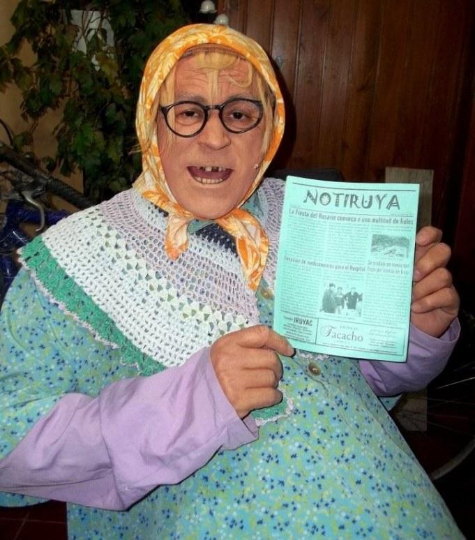 Doña Jovita, con NOTIRUYA