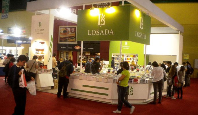 Stand de Losada, en la Feria del Libro