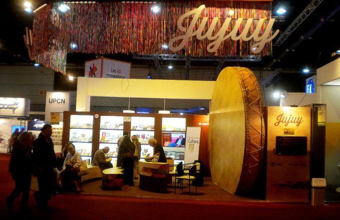 El stand de Jujuy, en la Feria del Libro
