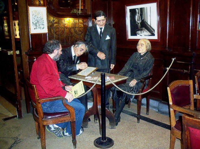 Una entrevista de gran calibre: editor de NOTIRUYA charlando con Borges, Gardel y Alfonsina Storni