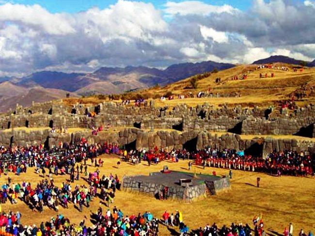 Inti Raymi en Cusco (Perú)