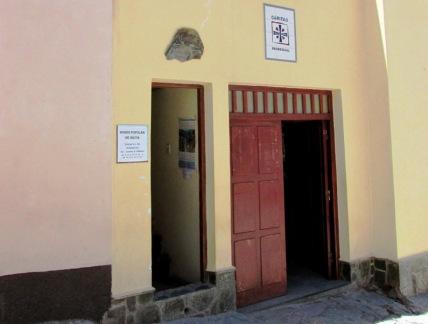 Vista de la entrada al Museo Popular de Iruya