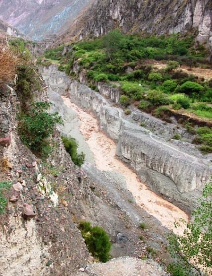 Vista del río Milmahuasi