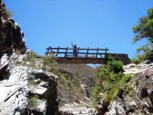 Puente de madera (San Isidro).