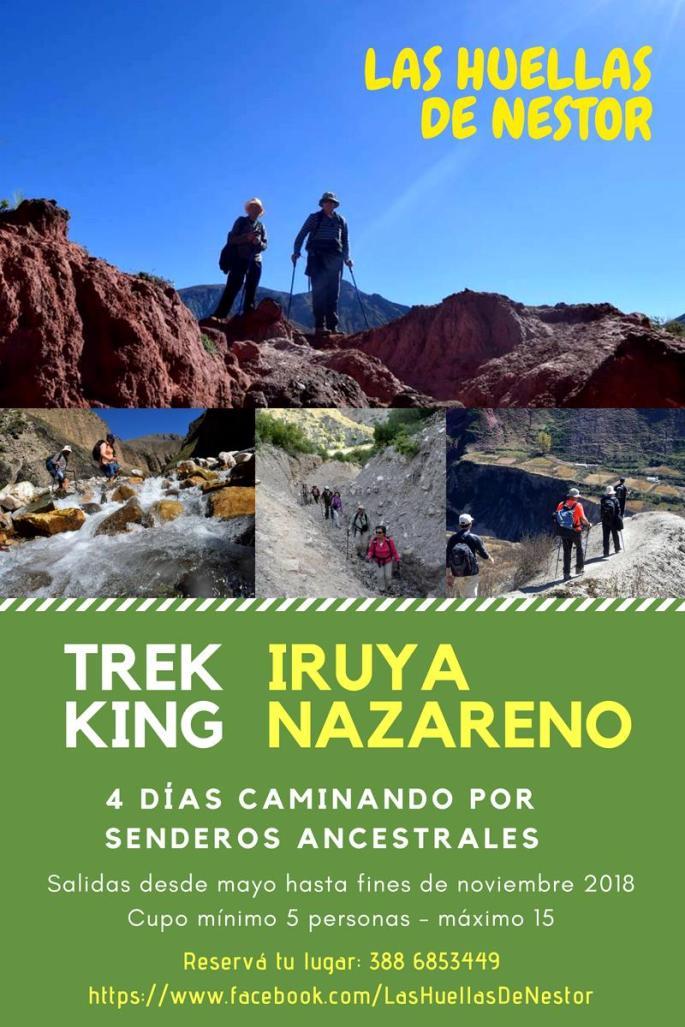 Trekking Iruya Nazareno
