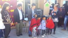 ABRA DEL SAUCE, Iruya, Salta, 09/10/18.- Inauguración de la escuela N° 4272.
