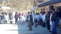 ABRA DEL SAUCE, Iruya, Salta, 09/10/18.- Palabras del intendente Alfredo Soto.