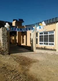 ABRA DEL SAUCE, Iruya, Salta, 09/10/18.- La escuela recién inaugurada. (Foto: Policía de Iruya).