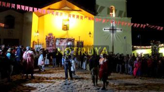 IRUYA, Salta, Argentina, 13/10/18.- Frente a la Parroquia de Iruya, durante la octava de la Fiesta del Rosario. (Foto: Pablo Harvey).